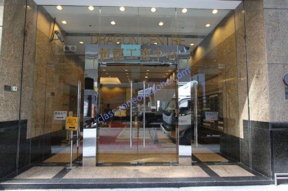 行約30步,到達「恆龍工商中心」,按23樓,順利到達「Melody Pole Studio」!